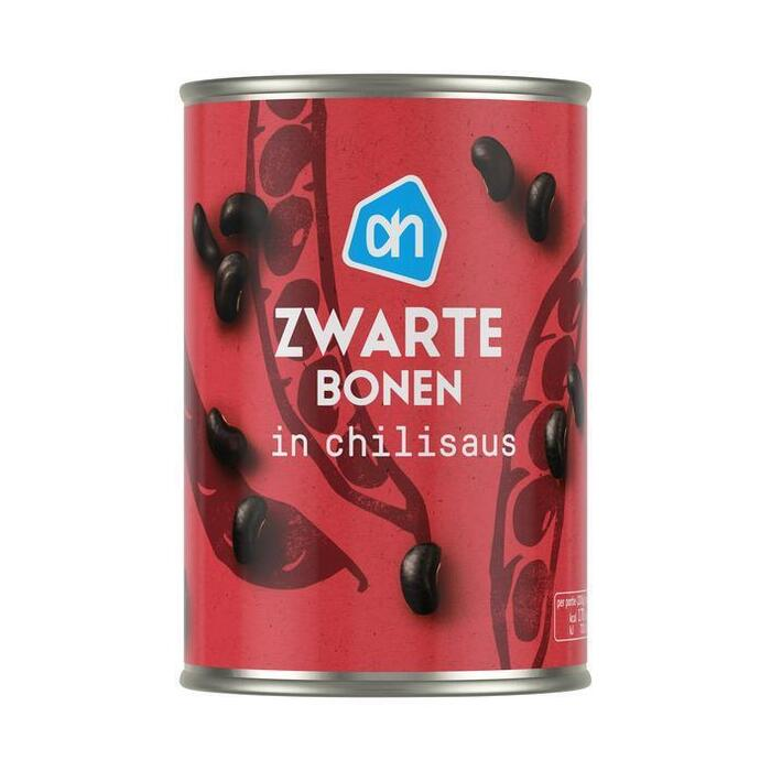 AH Zwarte bonen in chilisaus (400g)