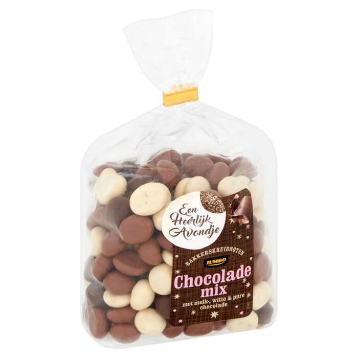 Jumbo Bakkerskruidnoten Chocolade Mix 350g (350g)