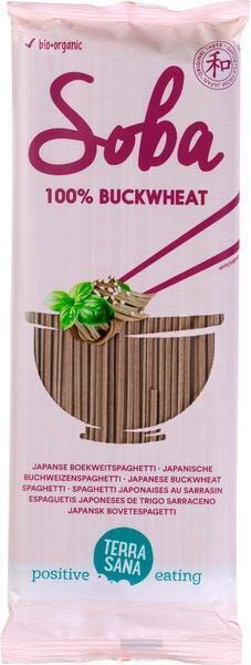 Soba 100% - Japanse boekweitspaghetti TerraSana 200g (200g)