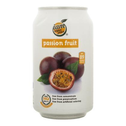Iam Super Juice Passion Fruit 330ml (33cl)