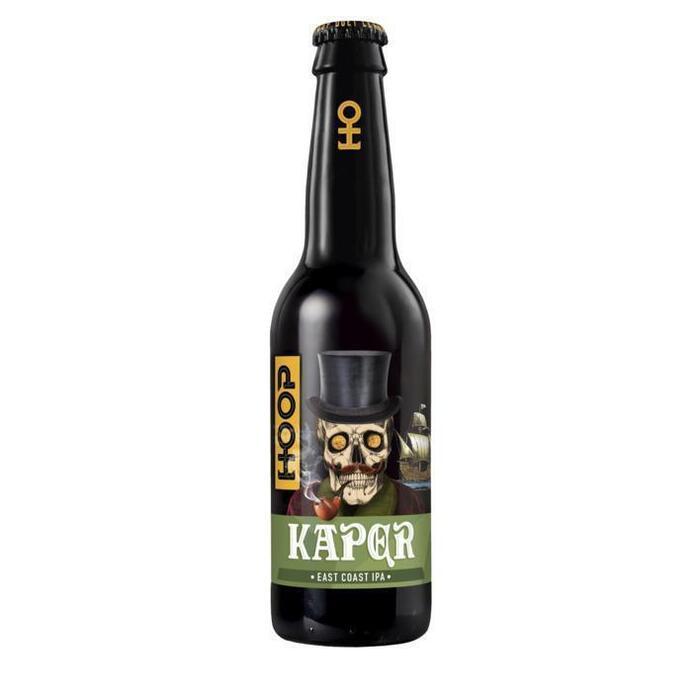 Hoop Bier Kaper East Coast IPA (rol, 33 × 33cl)