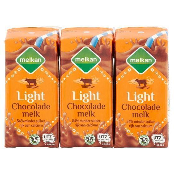 Chocolademelk light (6 × 200ml)