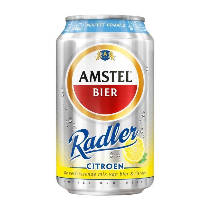 Amstel Radler lemon gekoeld (6 × 33cl)