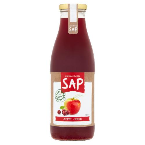 Biologische Appel-Kersensap 750 ml (0.75L)