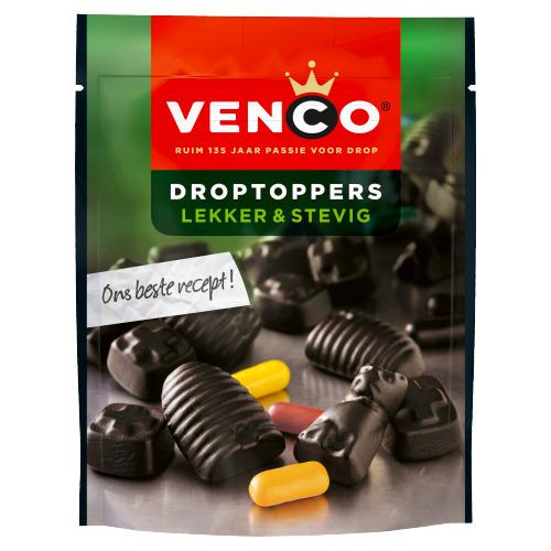 Venco Droptoppers Lekker Stevig 210 g (210g)