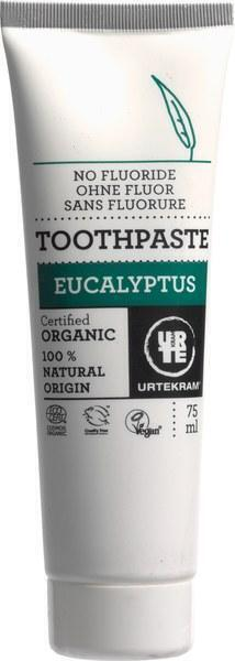 Eucalyptus tandpasta (zonder fluoride) (75ml)