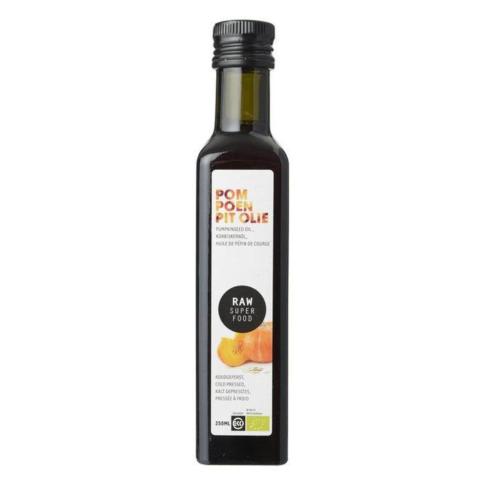 Raw Organic Food Pompoenpit Olie 250ml (250ml)