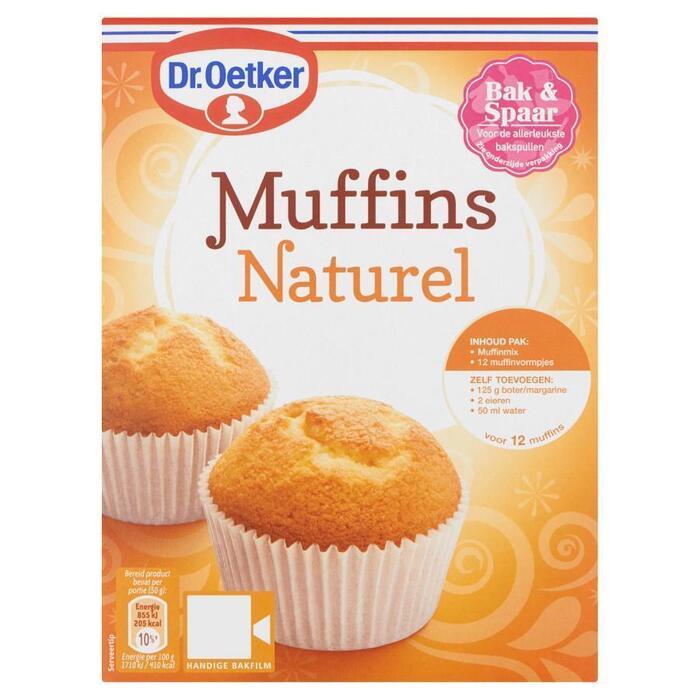 Muffins Naturel (Stuk, 350g)