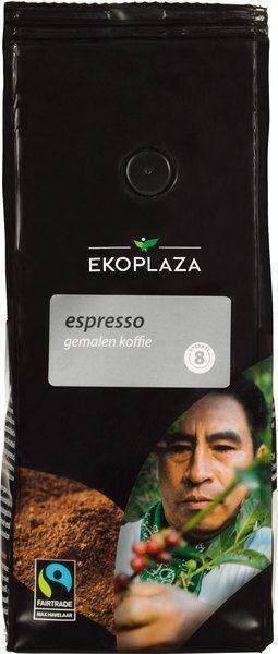 Espresso gemalen koffie (zak, 250g)
