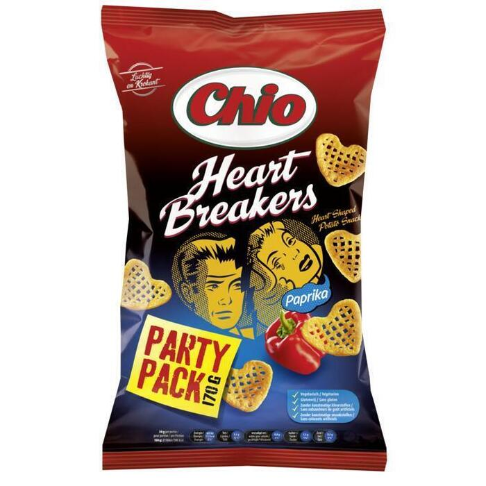 Chio Heartbreakers Paprika Partypack (170g)