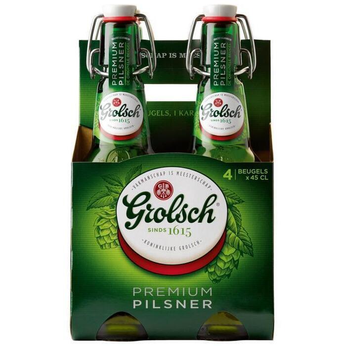 Grolsch Premium Pilsener (rol, 4 × 45cl)