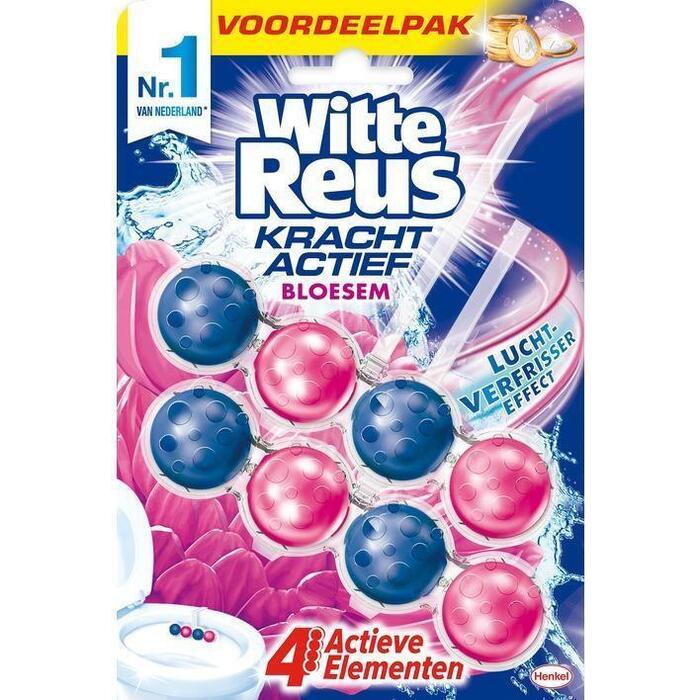 Witte Reus Kracht actief bloesem (2 × 100g)