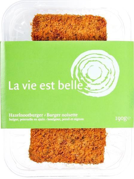 Hazelnootburger (190g)