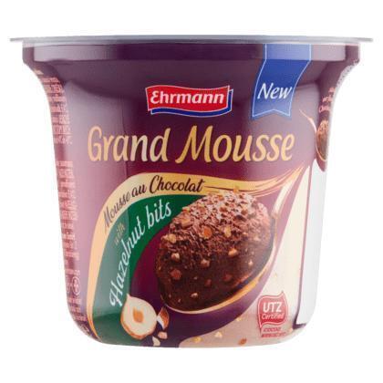 Ehrmann Grand Mousse with Hazelnut Bits 120 g (120g)