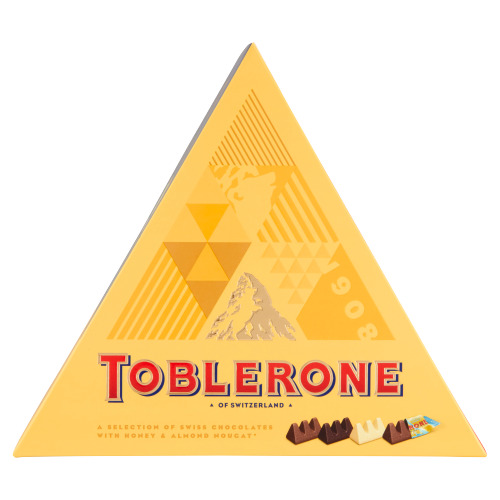 Toblerone a Selection of Swiss Chocolates with Honey & Almond Nougat 200 g (200g)