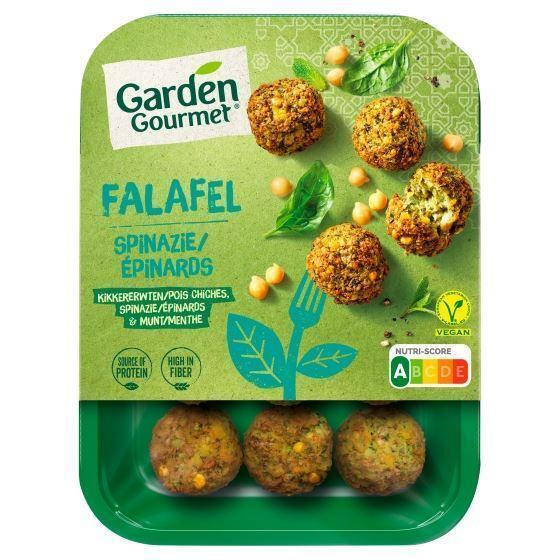 Garden Gourmet Falafel Spinazie 190 g (190g)