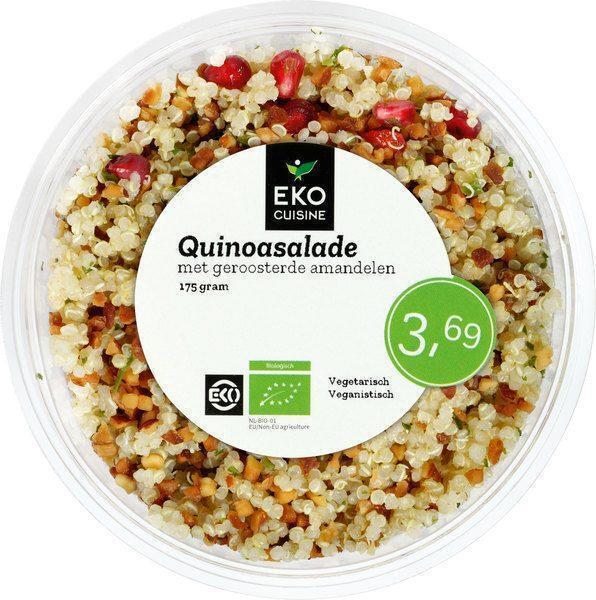 Quinoasalade met dadel en geroosterde amandelen (175g)
