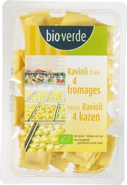 Verse ravioli 4 fromages (250g)
