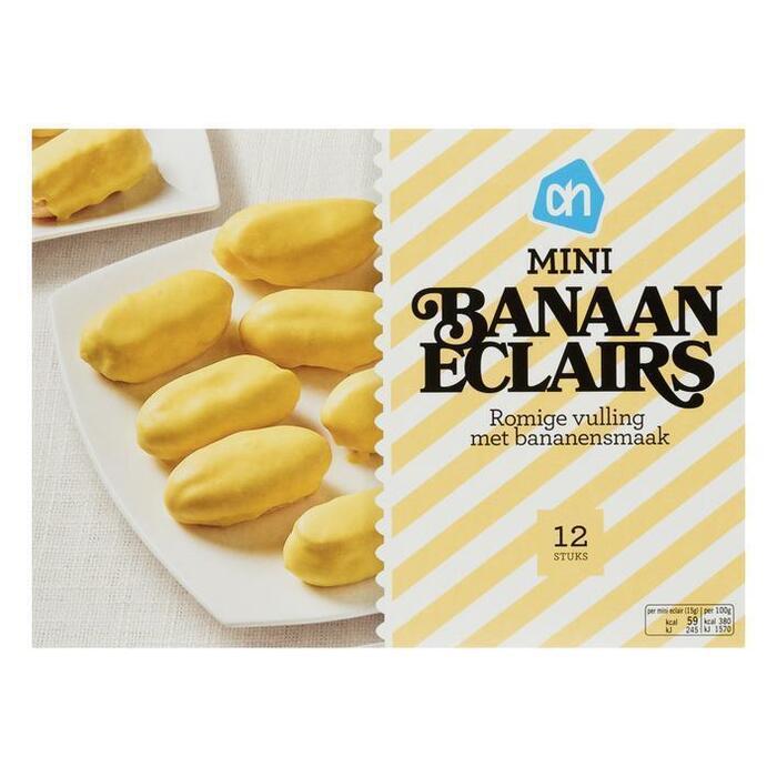 Mini banaan eclairs