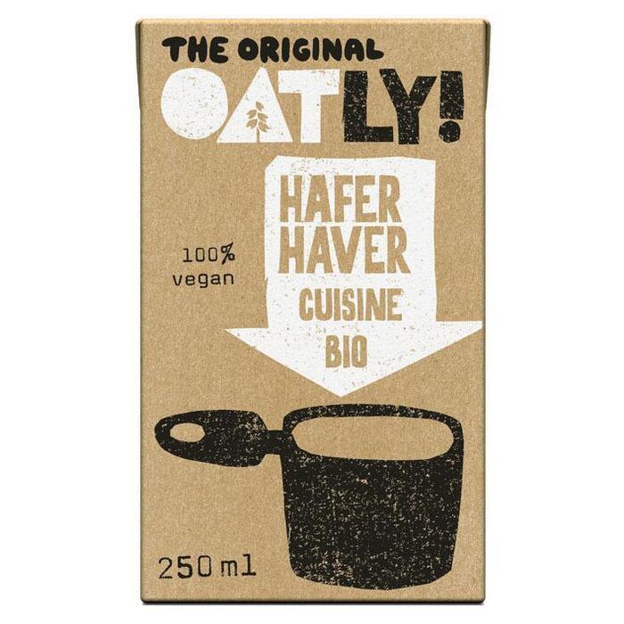 Oatly Haver Cuisine Bio 250ml (pak, 250ml)