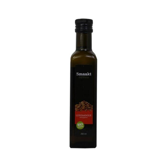 Biologische Lijnzaadolie (glas, 250ml)