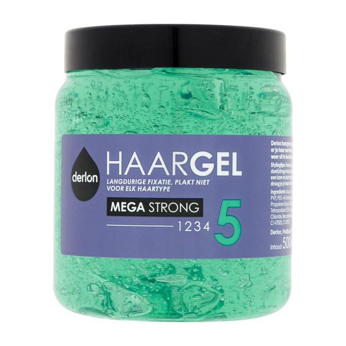 Derlon Styling gel mega strong (0.5L)