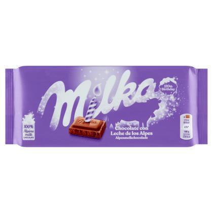 Milka Alpenmelkchocolade (tablt, 100g)