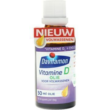 Davitamon Vitamine D olie voor volwassenen (50ml)