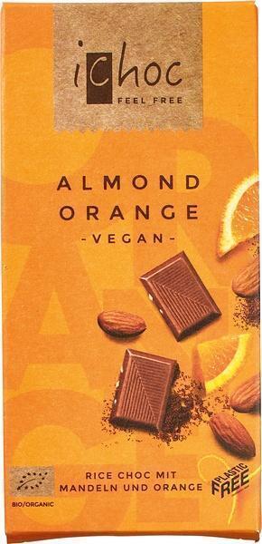 Rice choc almond orange (80g)