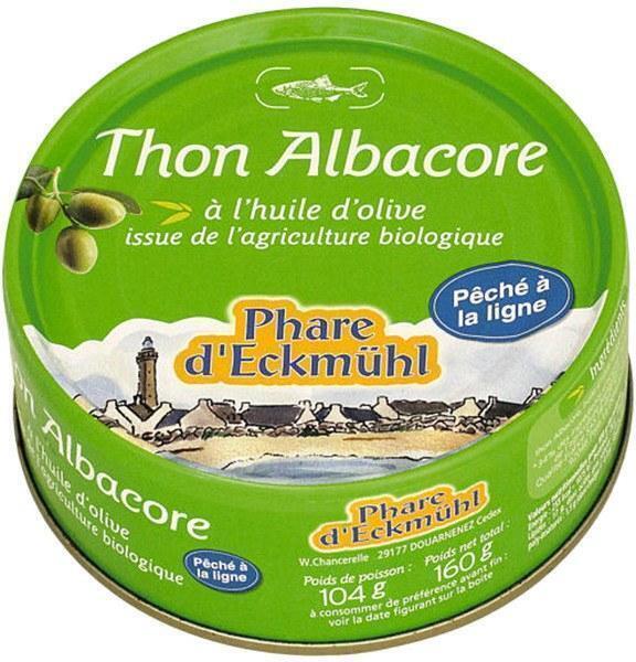 Tonijn in extra vergine olijfolie (blik, 100g)