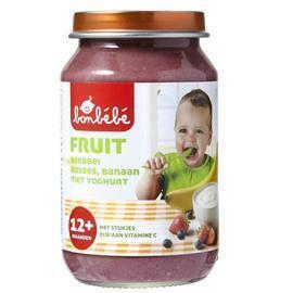 Bonbébé Aardbei, bosbes en banaan met yoghurt 12+ maanden (200g)