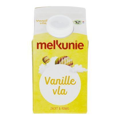 Vanillevla (Stuk, 0.5L)