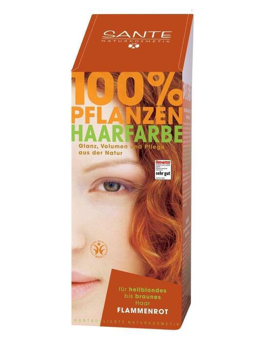 Haarkleuring Koperrood/Flammenrot SANTE 100g (100g)