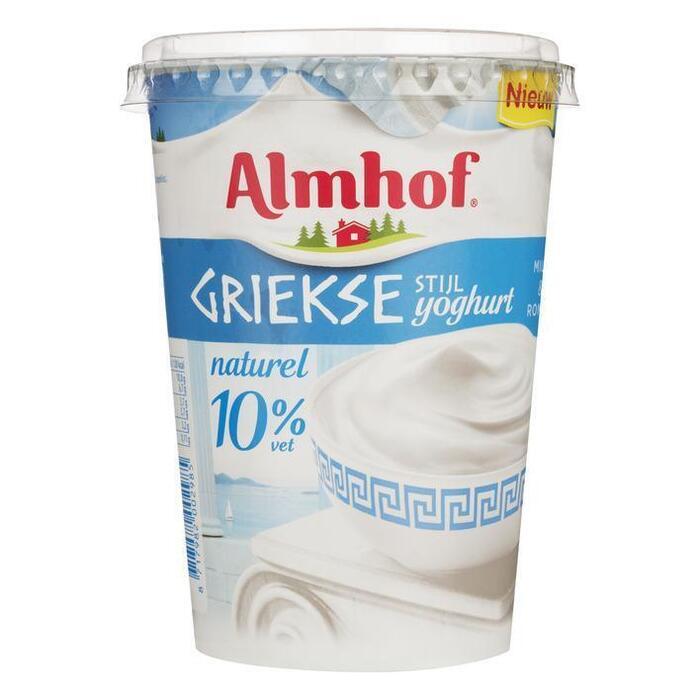 Yoghurt Griekse stijl 10% (450g)
