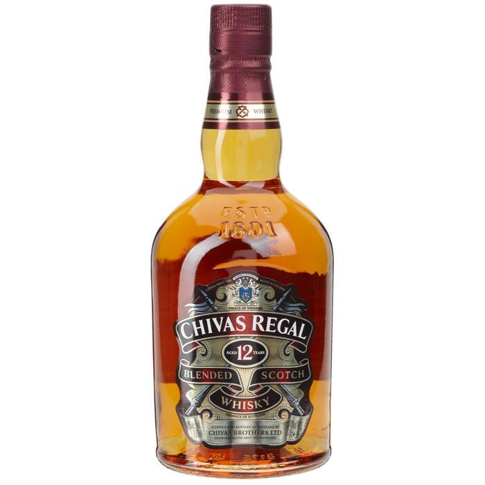 Chivas Regal 12 YO Blended Schotch Whisky 700 ml (0.7L)