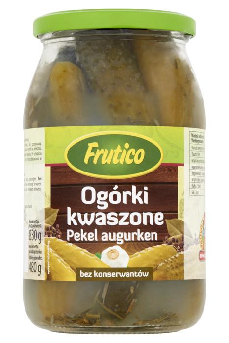 Frutico Augurken in zuur (830g)