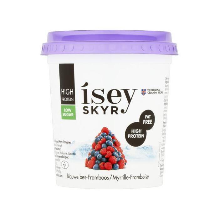 Isey Sey skyr blauwe bes-framboos (400g)