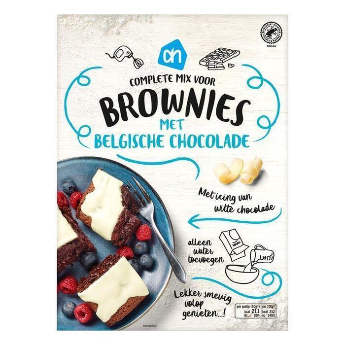 Belgische Chocolade Brownie (400g)