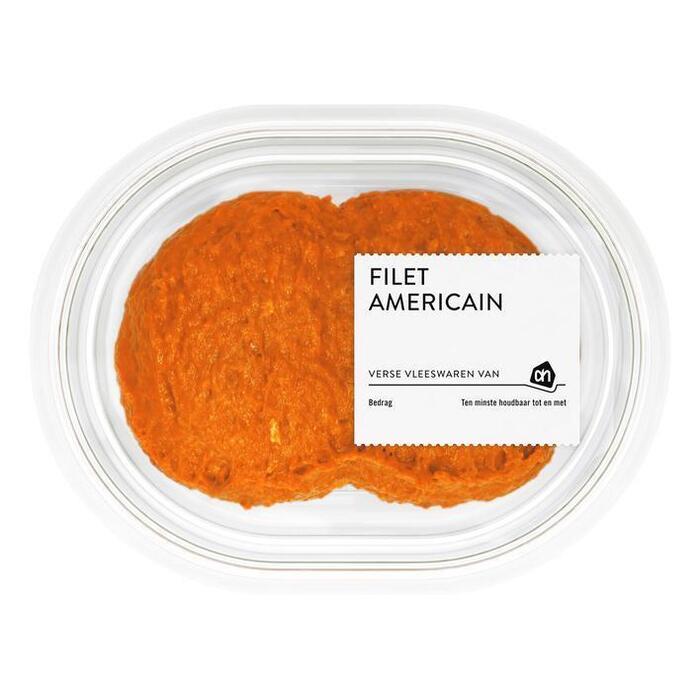 Filet americain naturel (bakje, 150g)
