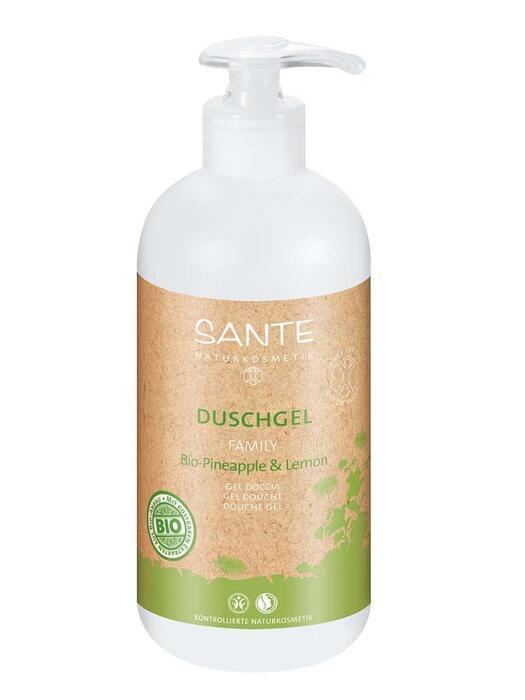 Family Douchegel Bio-Ananas-Citroen SANTE 500ml (0.5L)
