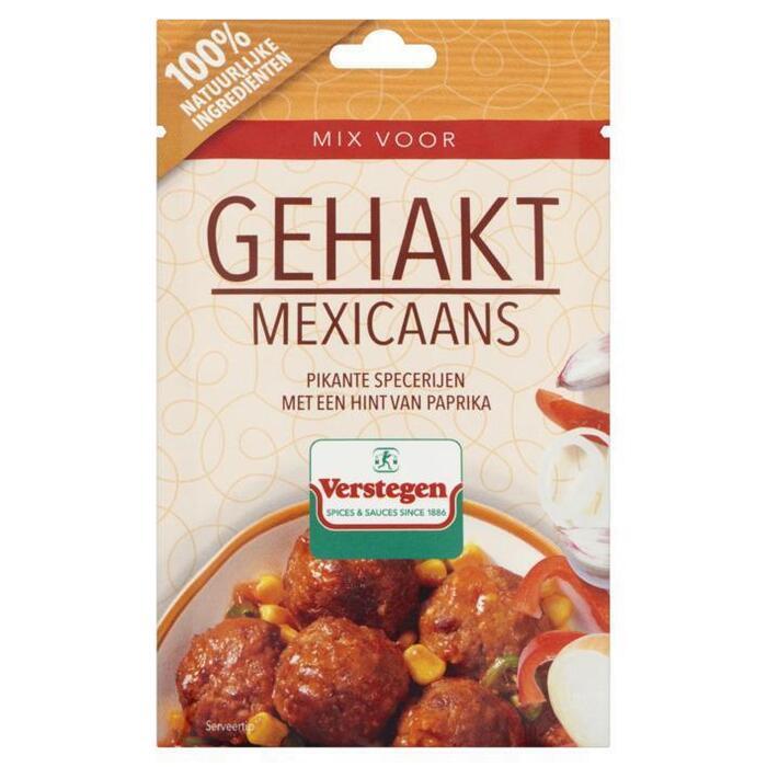 Verstegen mix voor gehakt mexicaans 40 g zakje (40g)