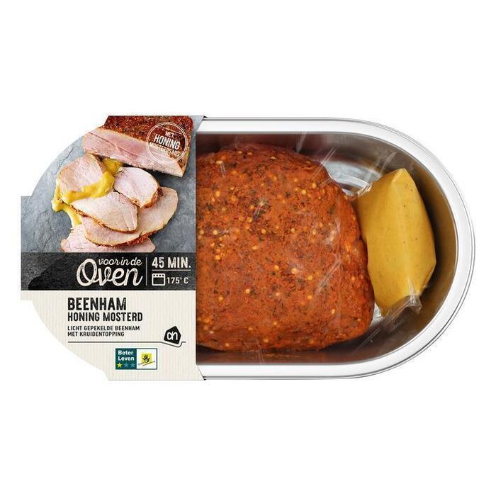 AH Ovenschaal beenham honing mosterdsaus (600g)