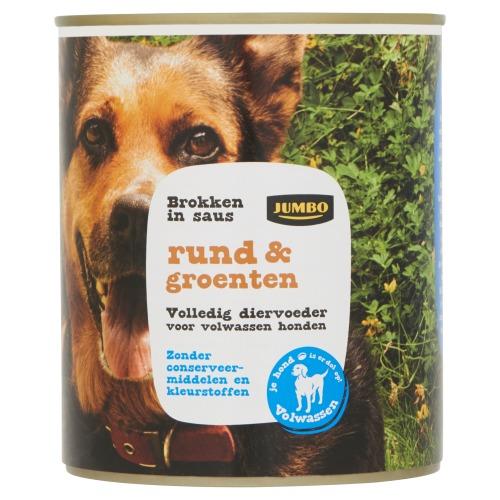 Jumbo Brokken in Saus Rund & Groenten 830g (830g)