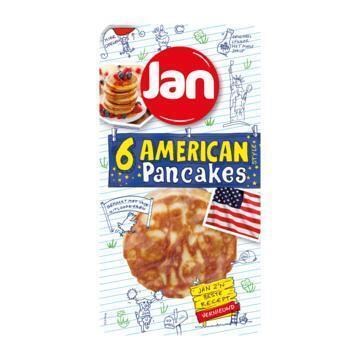 American pancakes 6 stuks (Stuk, 300g)