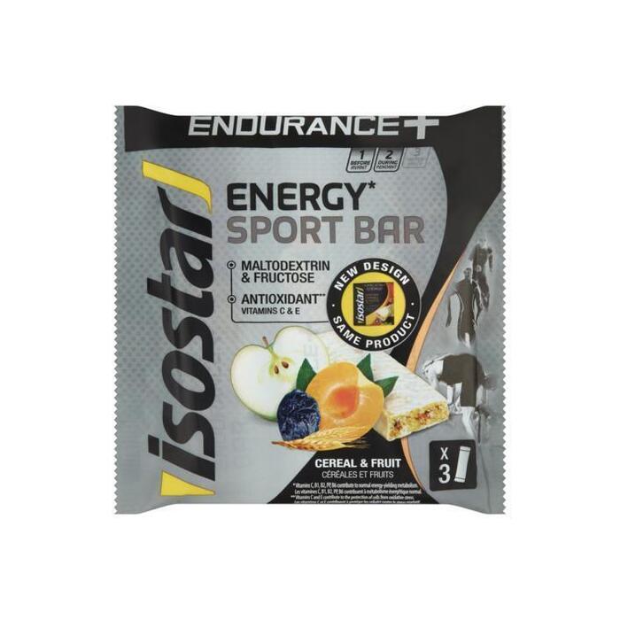 Long energy endurance bar cereals&fruits (3 × 40g)
