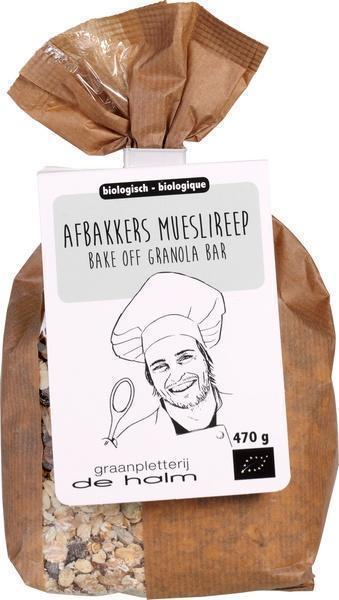 Afbakkers mueslireep (470g)