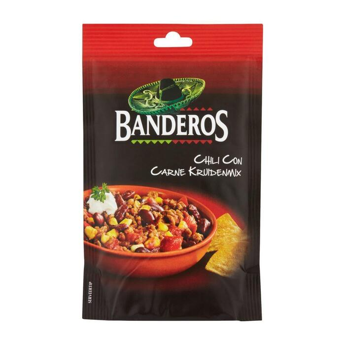 Banderos Chili con carne mix (28g)