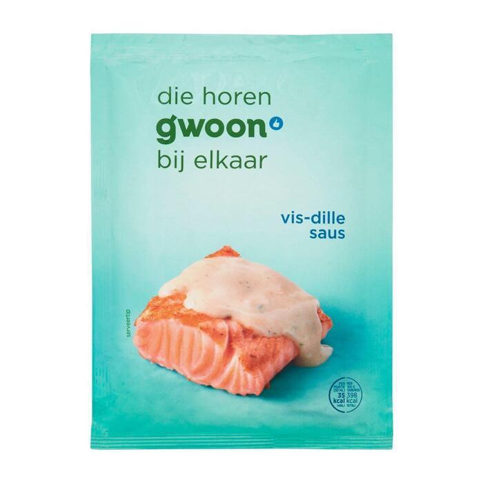 g'woon Mix voor saus bij vis (48g)