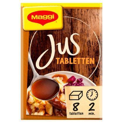 Jus, (22 tabletten) (8 × 72g)