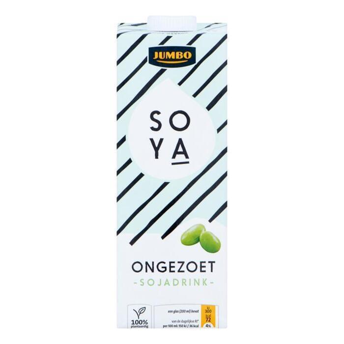 Soya Drink Ongezoet (pak, 1L)